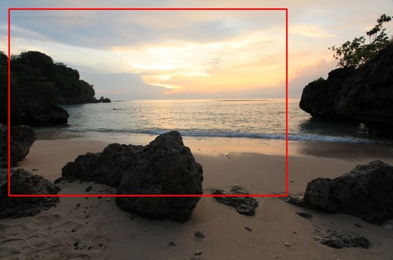 tips memotret sunset di pantai