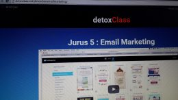 Materi Pelatihan Bisnis Internet SB1M Email Marketing Detox Class
