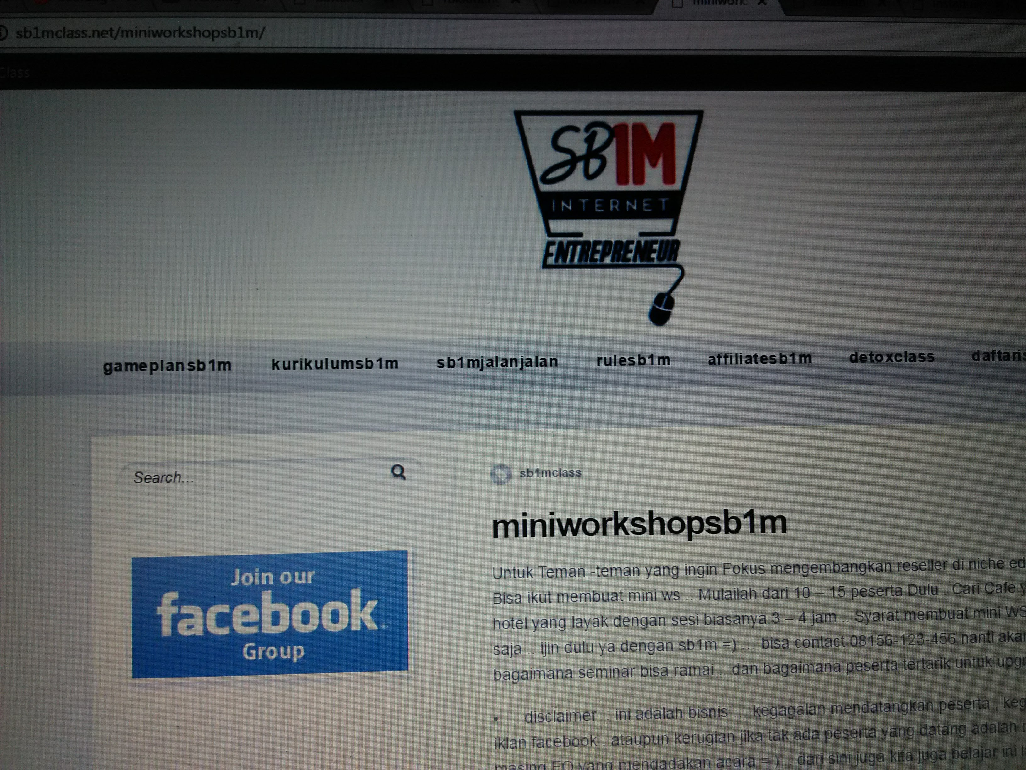 materi-kursus-bisinis-internet-sb1m-mini-workshop-sb1m