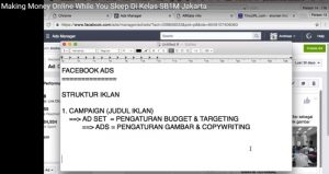 Tutorial Bisnis Online SB1M Making Money Online