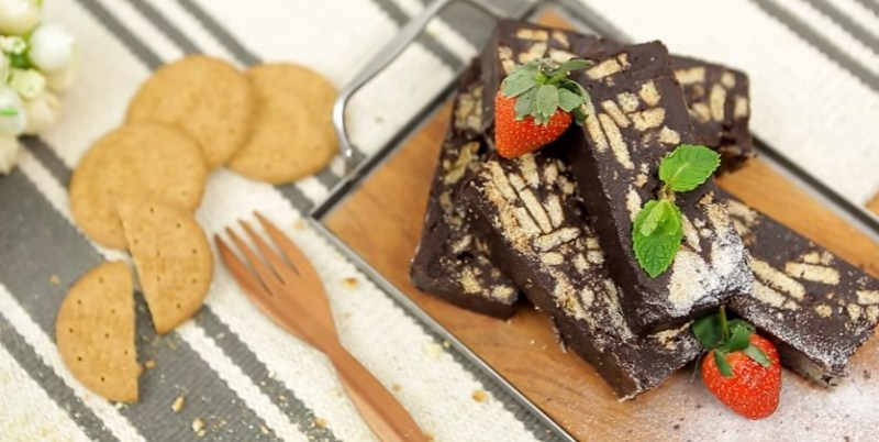 Resep Chocolate Biscuit Cake Ala Chef Chitra