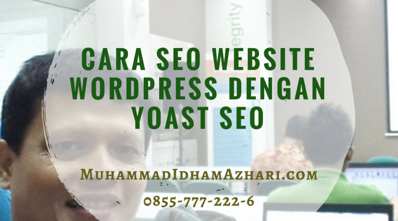 Cara SEO Website WordPress dengan Plugin Yoast SEO