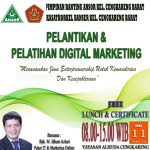 Pelantikan Dan Pelatihan Digital Marketing