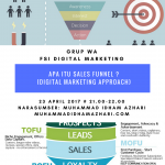 APA ITU SALES FUNNEL MELALUI GRUP WA FSI DIGITAL MARKETING