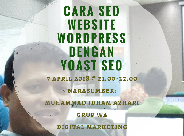 Cara SEO Website WordPress Dengan Plugin Yoast SEO Melalui Grup WA Digital Marketing