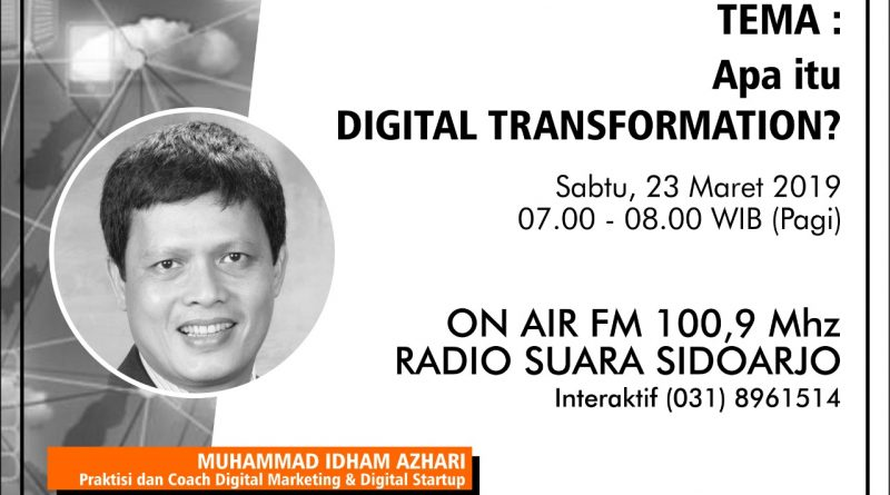 Apa itu DIGITAL TRANSFORMATION