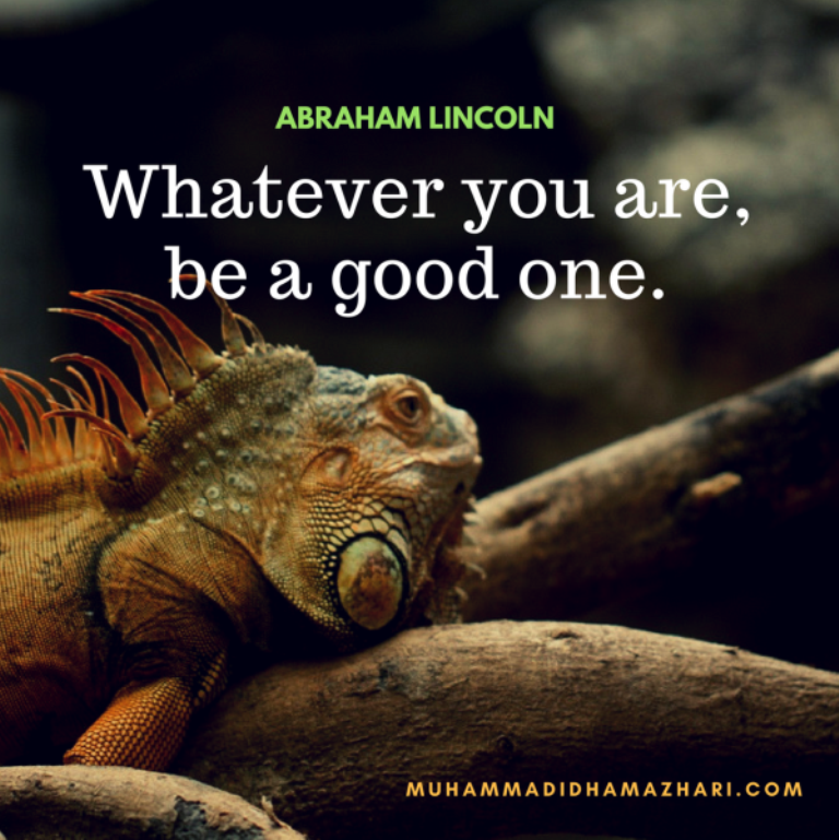 Whatever You Are By Muhammad Idham Azhari