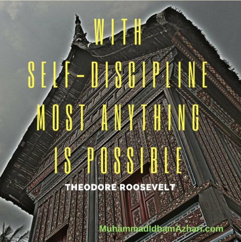 With Self-Discipline by Muhammad Idham Azhari Affiliate Marketer