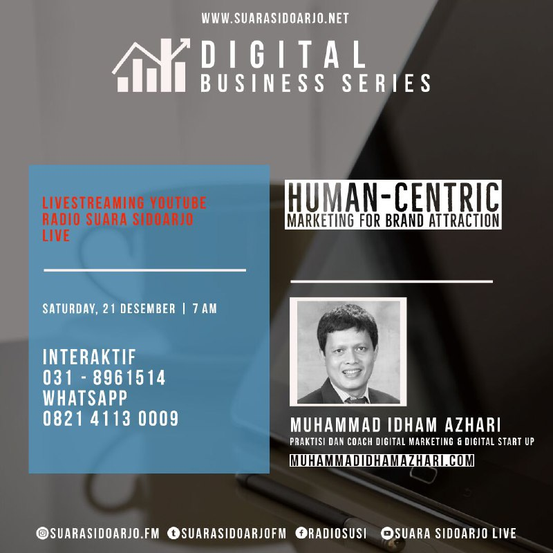 Human-centric Marketing for BRAND ATTRACTION by Muhammad Idham Azhari