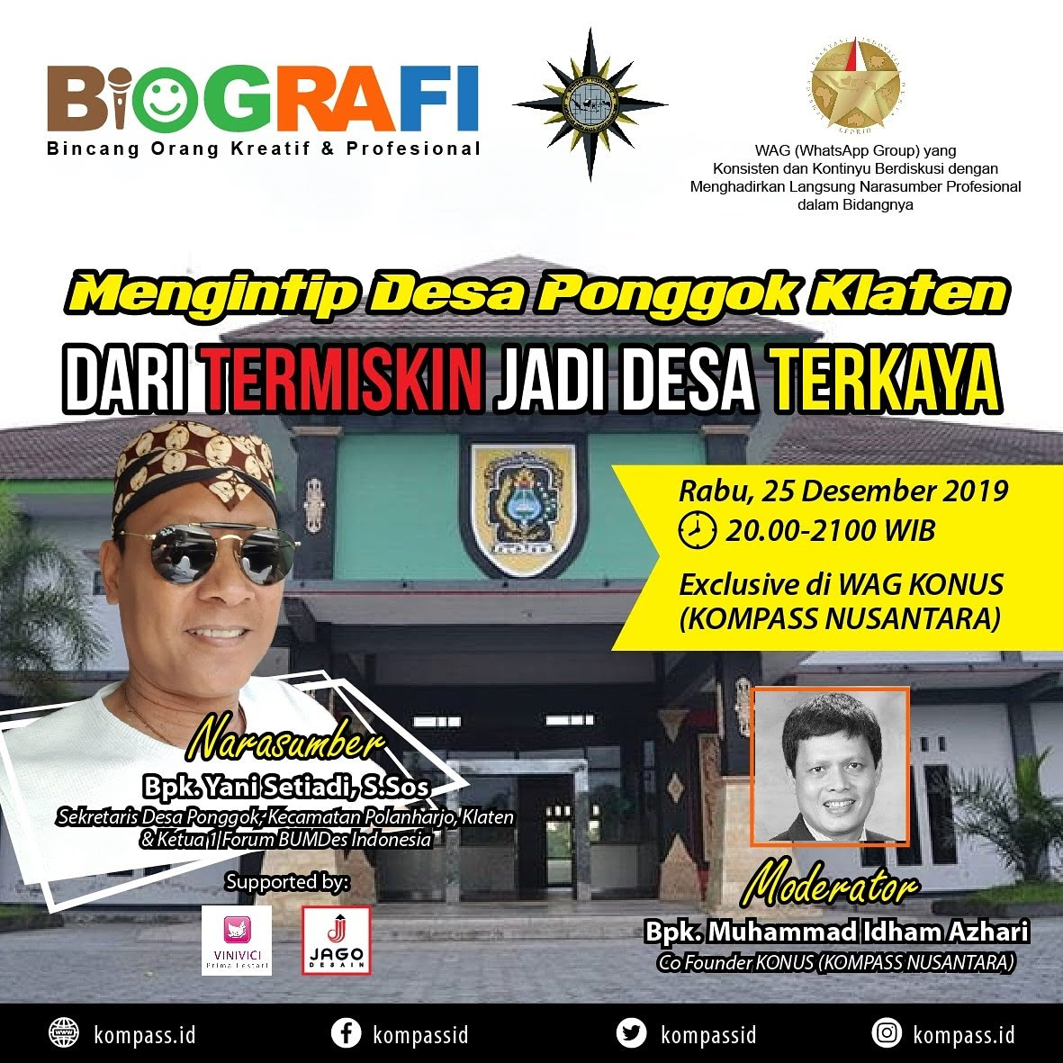 Program BIOGRAFI KOMPASS Nusantara