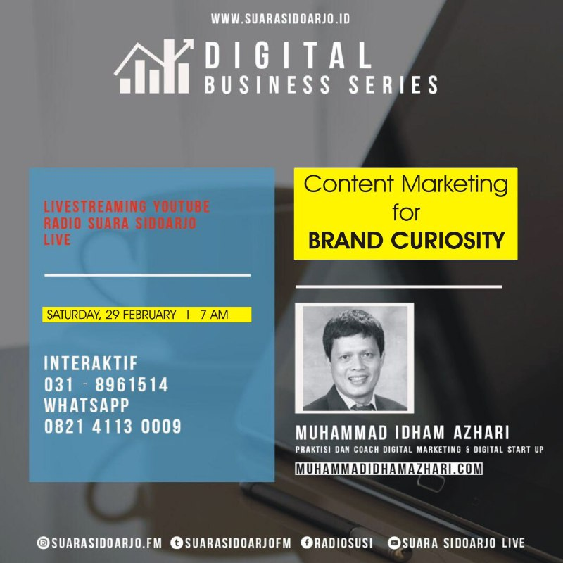 Content Marketing for BRAND CURIOSITY by Muhammad Idham Azhari